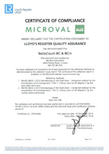 Certyfikat Microval