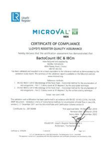 Certyfikat Microval dla aparatów Bentley Instruments