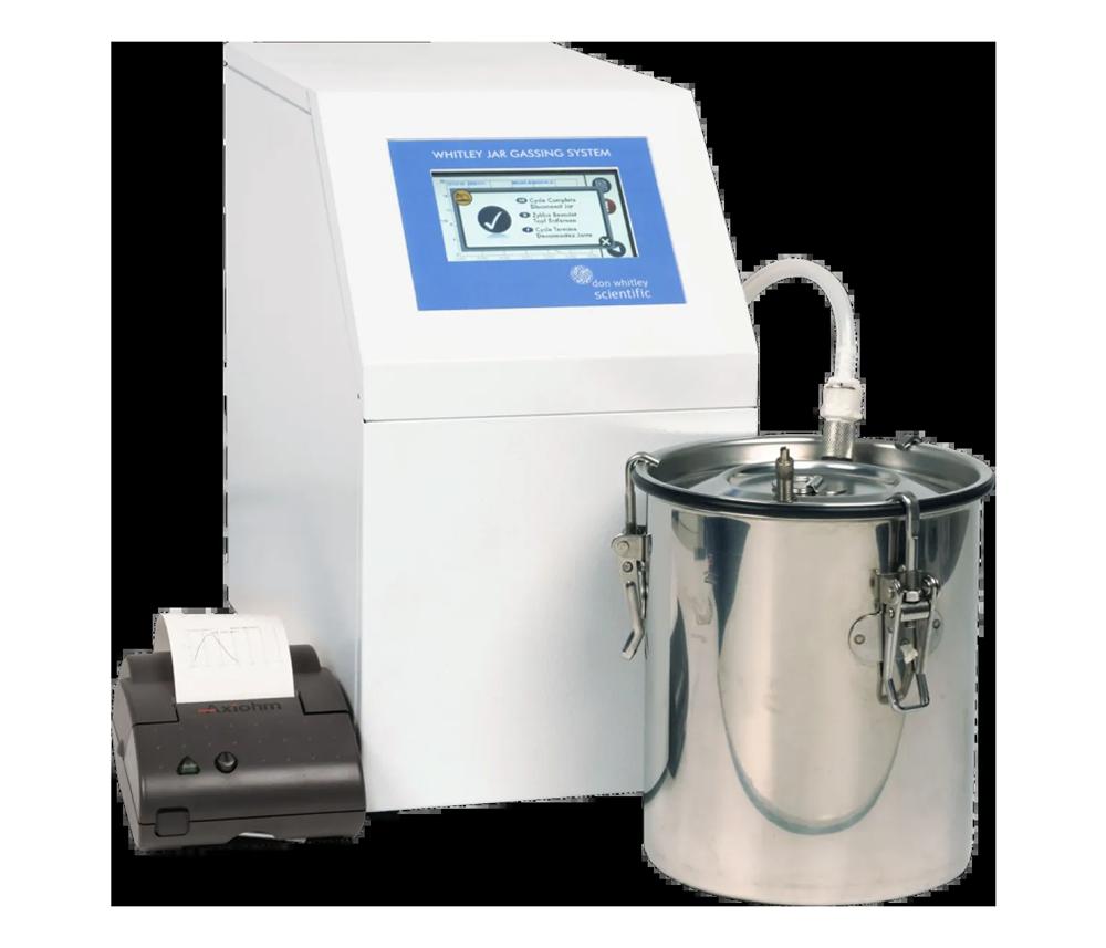 Jar Gassing System - napełnianie słojów gazem