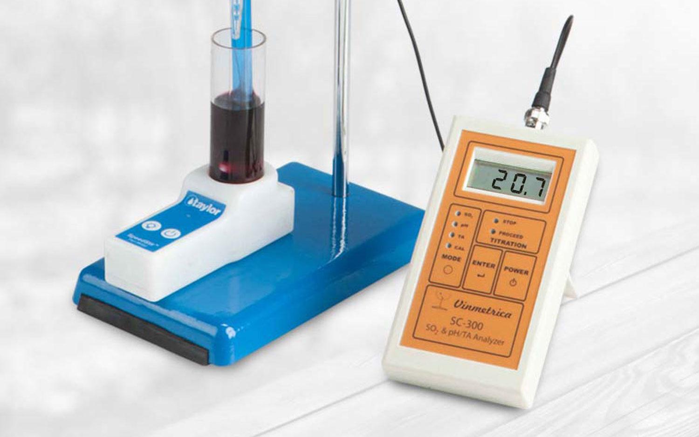 Pomiar dwutlenku siarki w winie