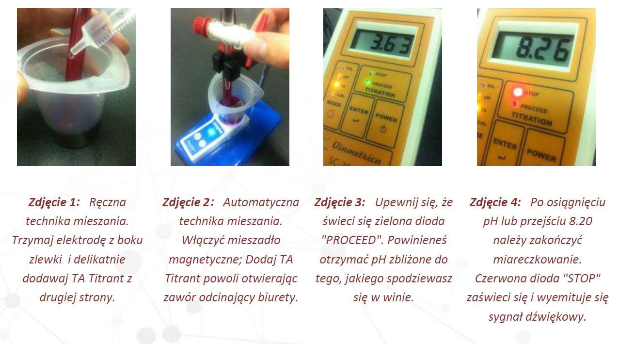 Vinmetrica - pomiar kwasowości wina